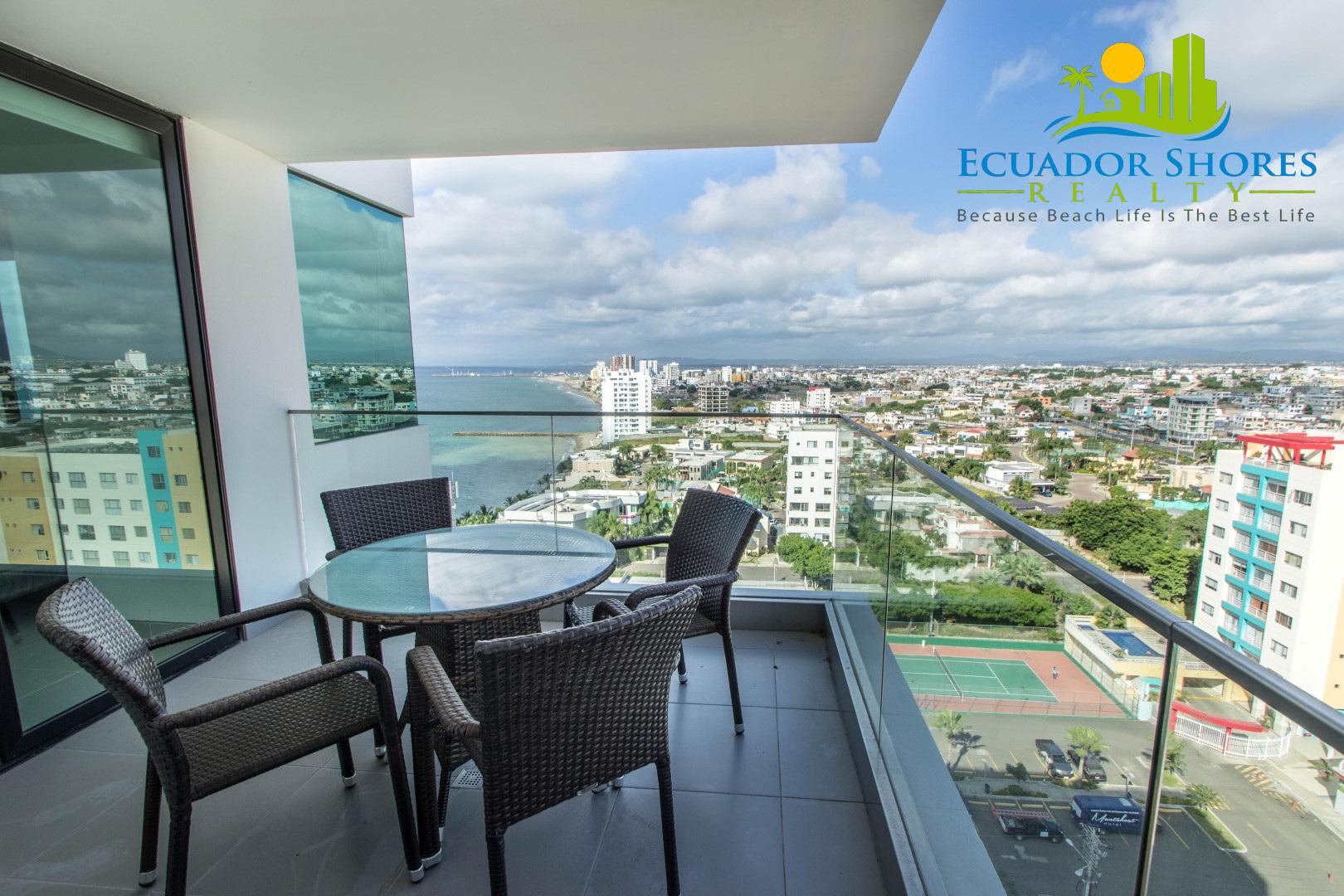 Poseidon Manta Ecuador furnished condo with ocean views!!