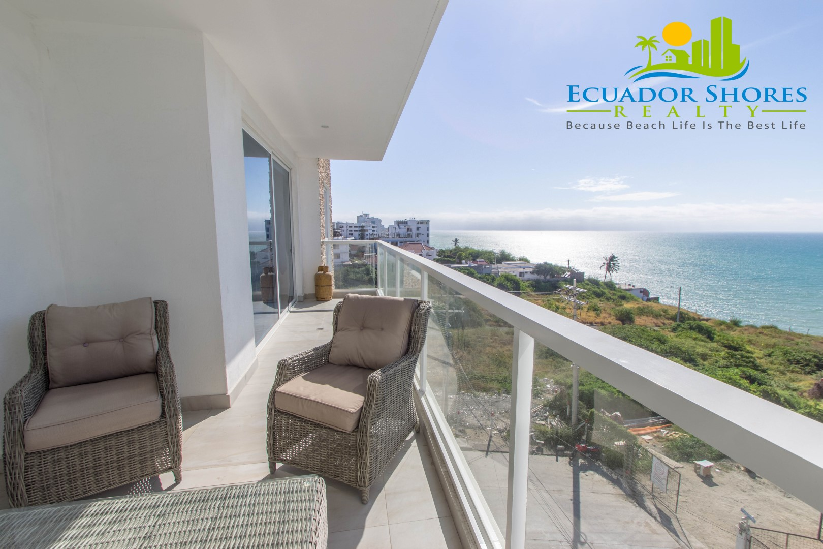 European builder – Ocean views and move in ready!