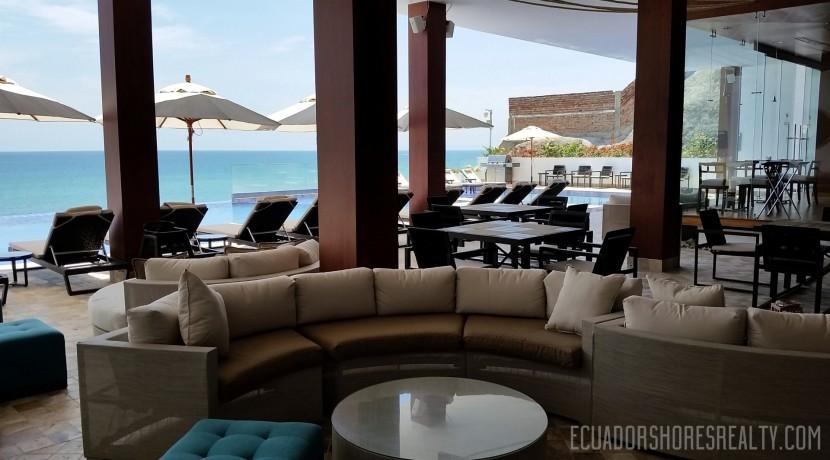 Poseidon Manta Ecuador pool area bar 1