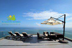 Poseidon Manta Ecuador sun deck beachfront