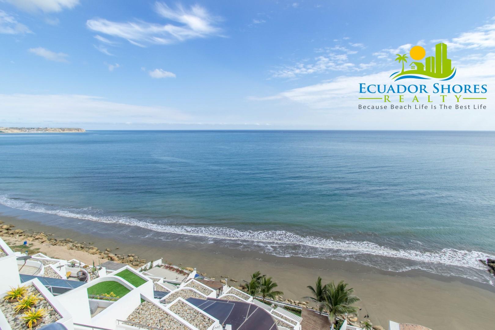 Manta Ecuador oceanfront condo for sale!