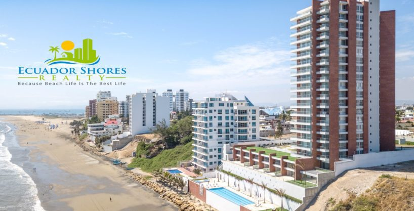 Ecuador Beachfront condo in luxury building! 3/2.5 and just reduced!!