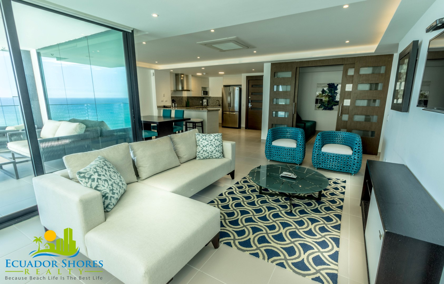 Fully Furnished with Ocean Views