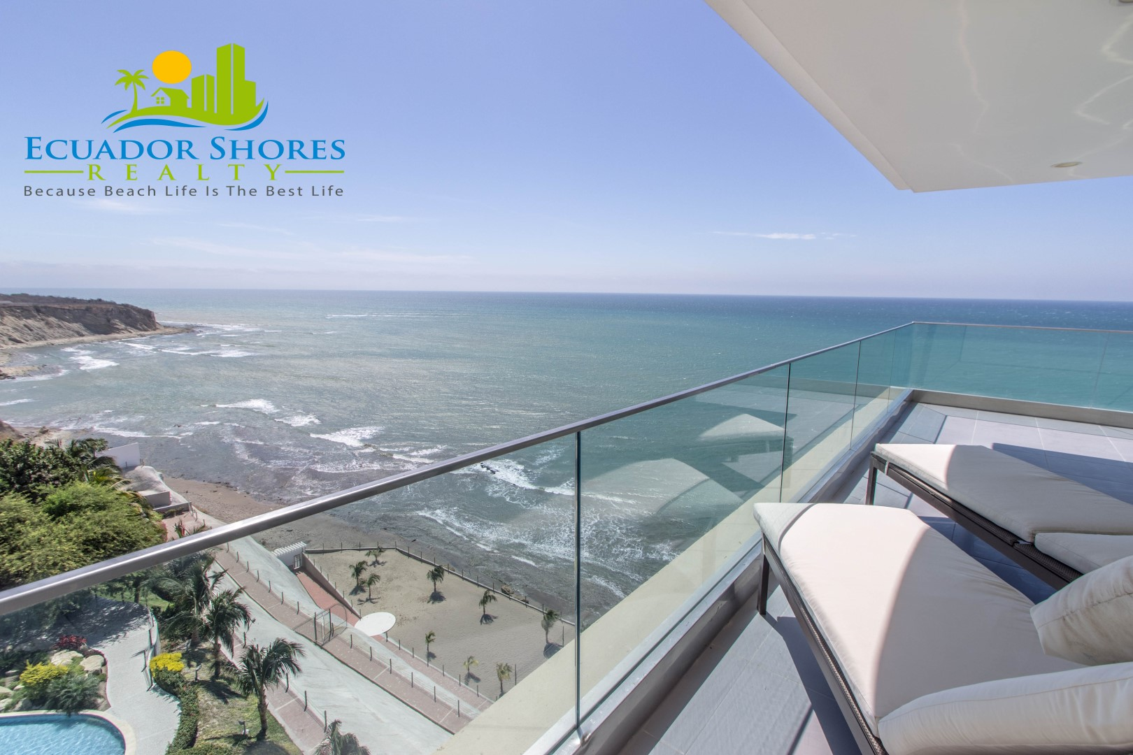 Largest condo in Poseidon building! Manta Ecuador Real Estate