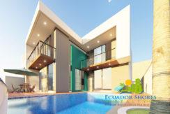 Ecuador custom beach home for sale - Ecuador Shores Realty - Ecuador Real Estate - 1
