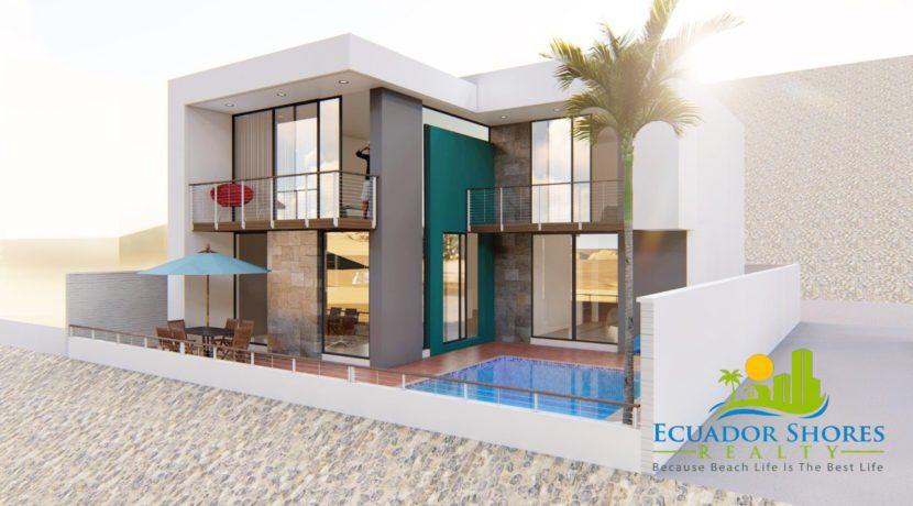 Ecuador custom beach home for sale - Ecuador Shores Realty - Ecuador Real Estate - 2