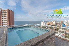 Manta Ecuador Arrecife condo 2 bedroom for sale 3
