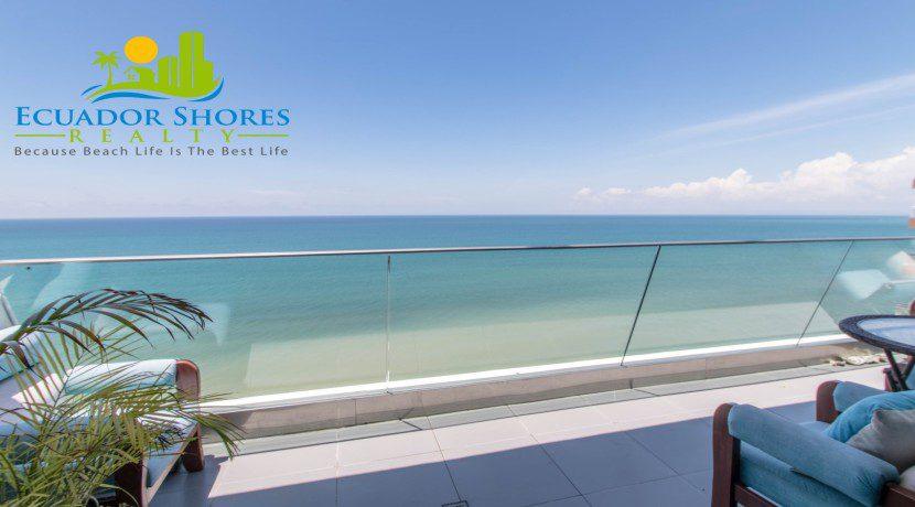 Poseidon condo Manta Ecuador $209k furnished Ecuador Shores Realty 1