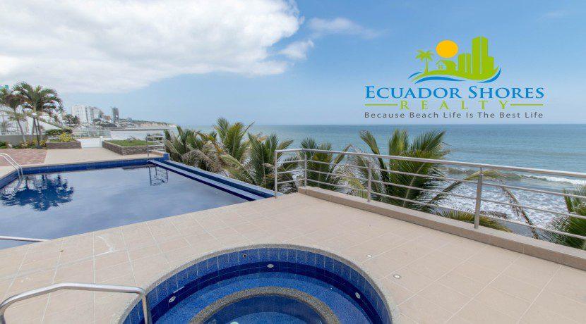 Las Olas pool Manta Ecuador Shores Realty 5