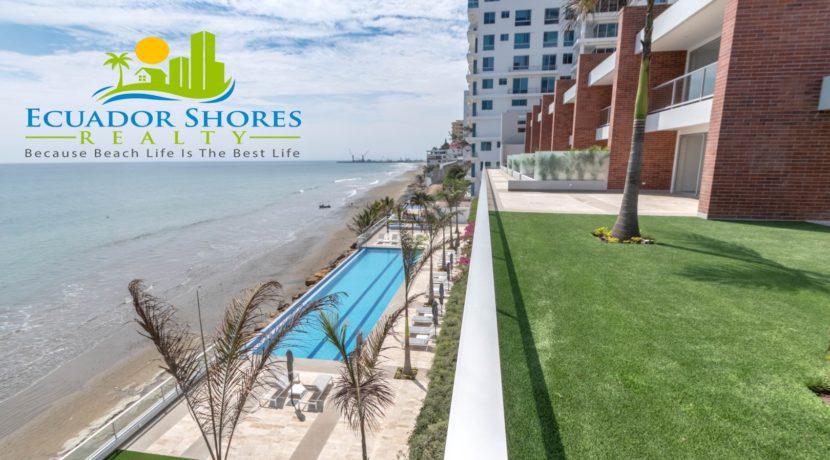 IBIZA Manta Ecuador condo beachfront building Ecuador Shores Realty 8