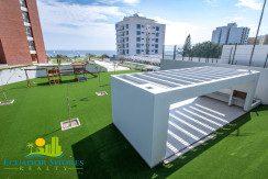 Ibiza Manta Ecuador BBQ area Ecuador Shores Realty condo for sale 2