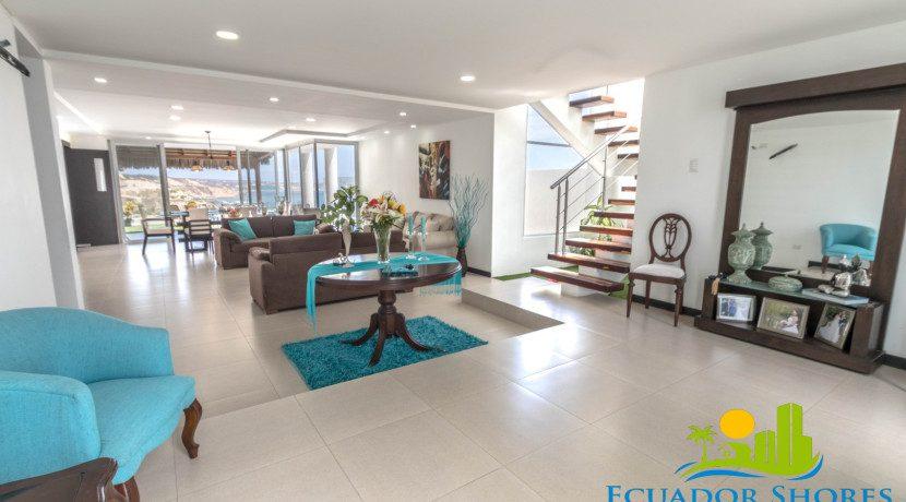 Custom beach home Manta Ecuador with Ecuador Shores Realty 7